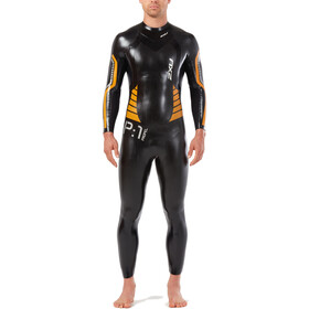 2XU P:1 Propel Wetsuit Herren black/flame orange